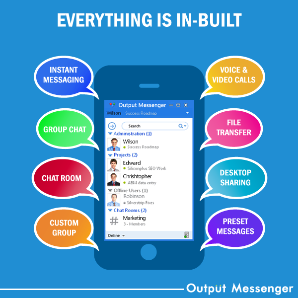Output Messenger Demo - All in One Pack
