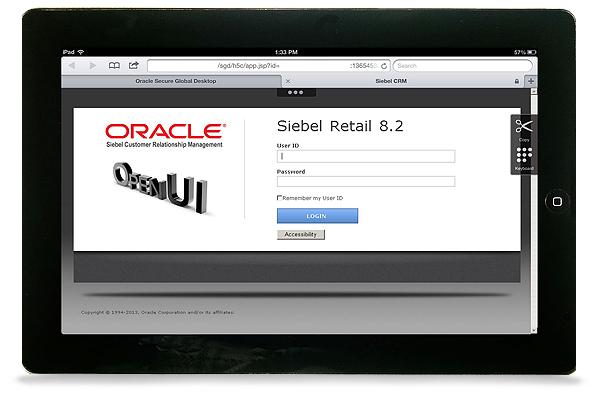 Oracle Secure Global Desktop Demo - Oracle Secure Global Desktop