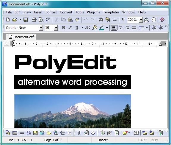 PolyEdit Demo - PolyEdit