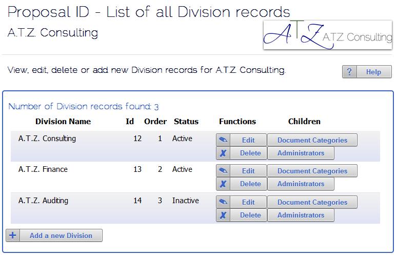 Proposal ID Demo - Proposal ID