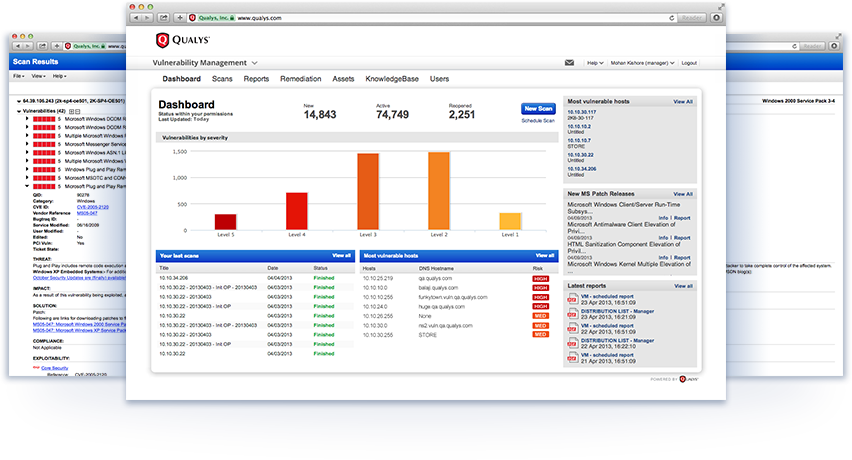 Qualys Demo - QualysGuard