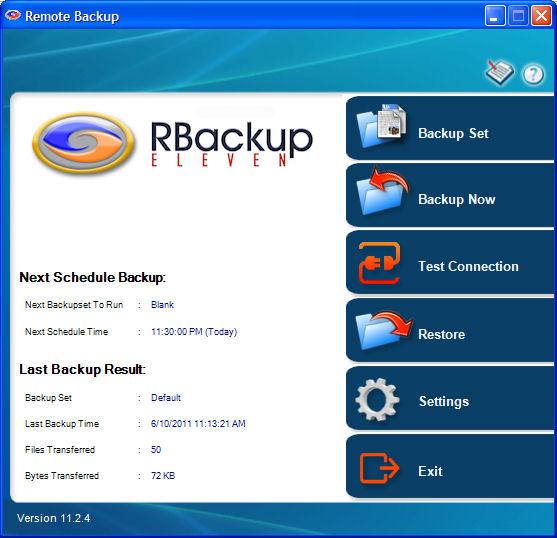RBackup Demo - RBackup