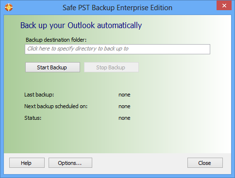 Safe PST Backup Demo - Safe PST Backup