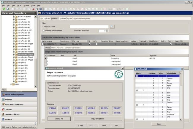 Sophos SafeGuard Encryption Demo - Safeguard Encryption