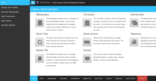 Senayan Library Management System Demo - Senayan Library Management System