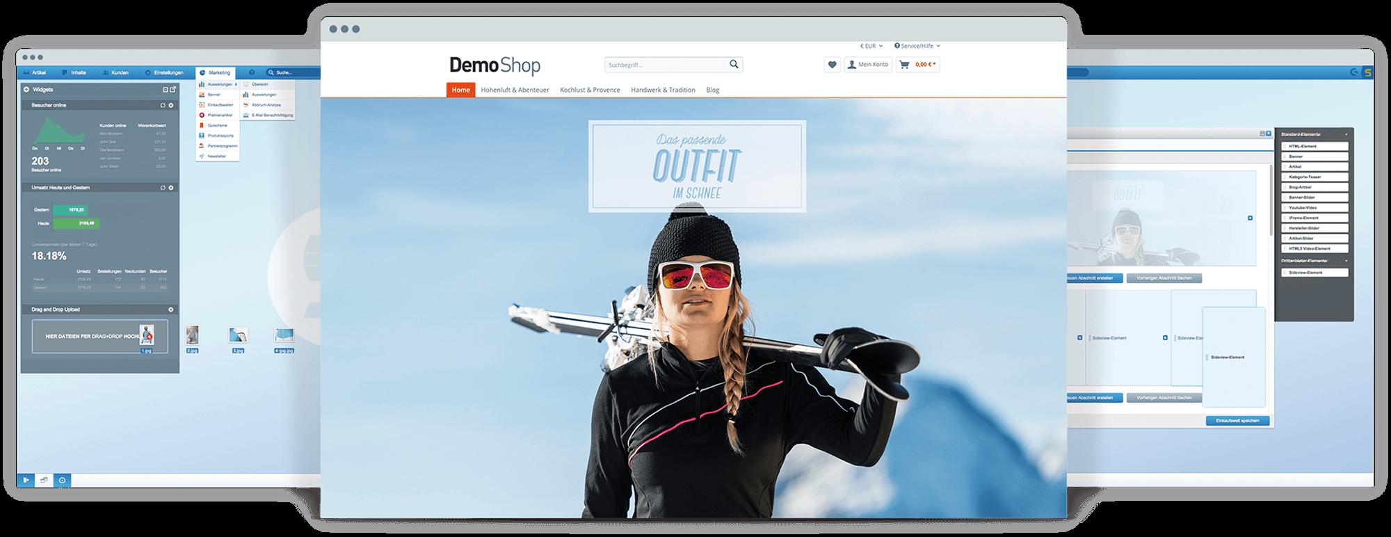 Shopware Demo - shopware