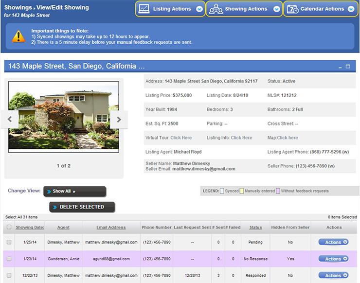 ShowingSuite Demo - ShowingSuite