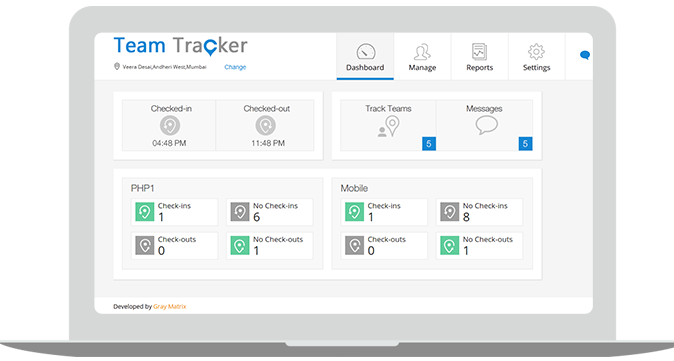 Team Tracker Demo - Team Tracker