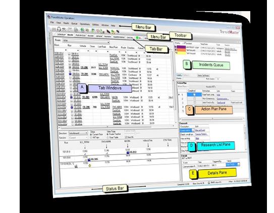 Trapeze TransitMaster CAD/AVL Demo - Trapeze TransitMaster CAD/AVL