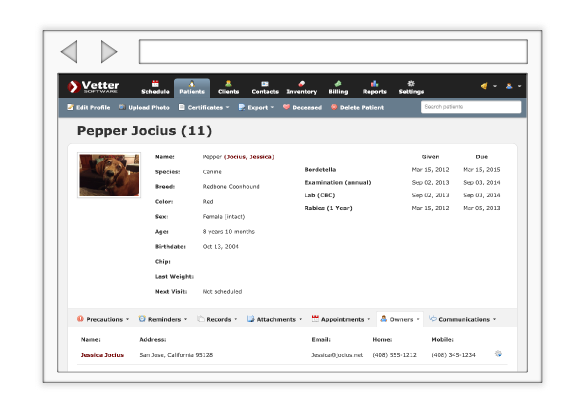 Vetter Software Demo - Vetter Software