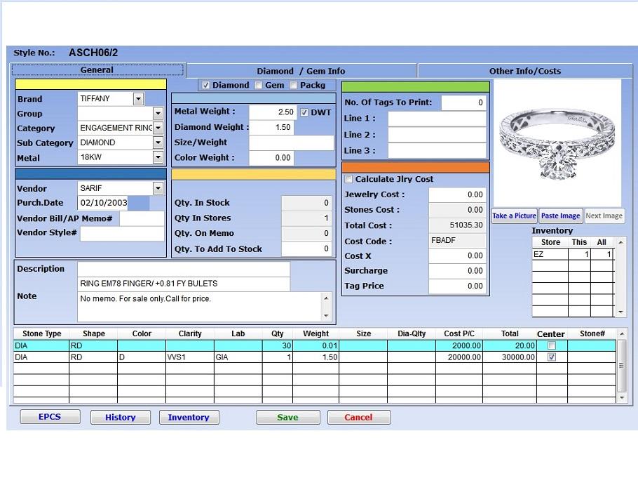 Ishal Inc - Jewelry Retail Software Demo - wJewel
