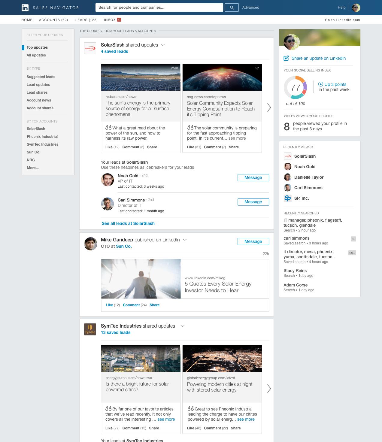LinkedIn Sales Navigator Reviews 2019: Details, Pricing, & Features | G2