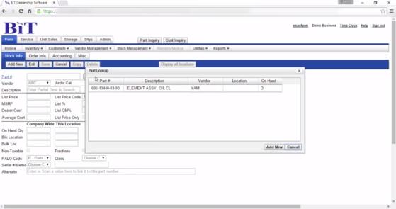 BiT Marine Software Demo - BiT Marine Software