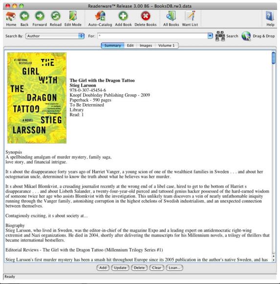 Books Database Demo - Books Database