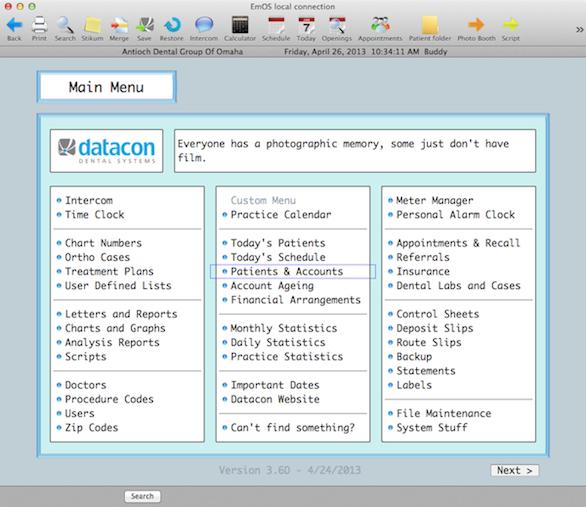Datacon Dental System Demo - Datacon Dental System
