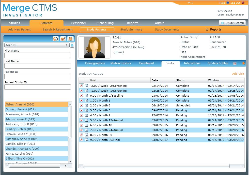 IBM Clinical Development Demo - eClinicalOS