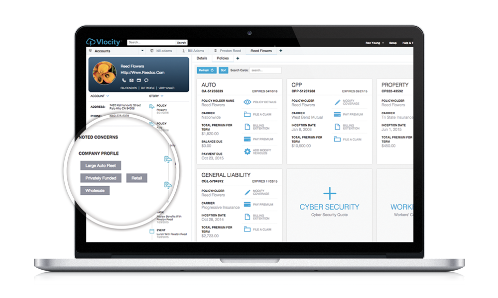 Vlocity Insurance Cloud Demo - Vlocity Insurance CRM