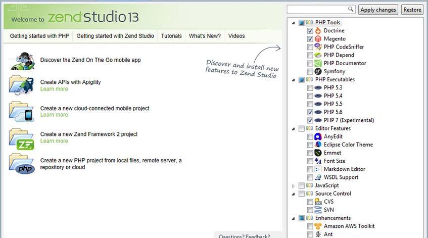 Zend Studio Demo - Zend Studio