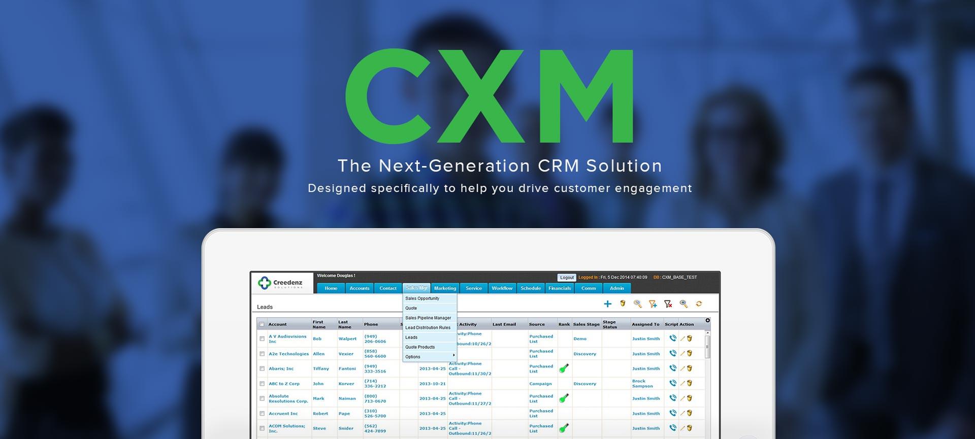 Creedenz CXM Demo - Creedenz CXM