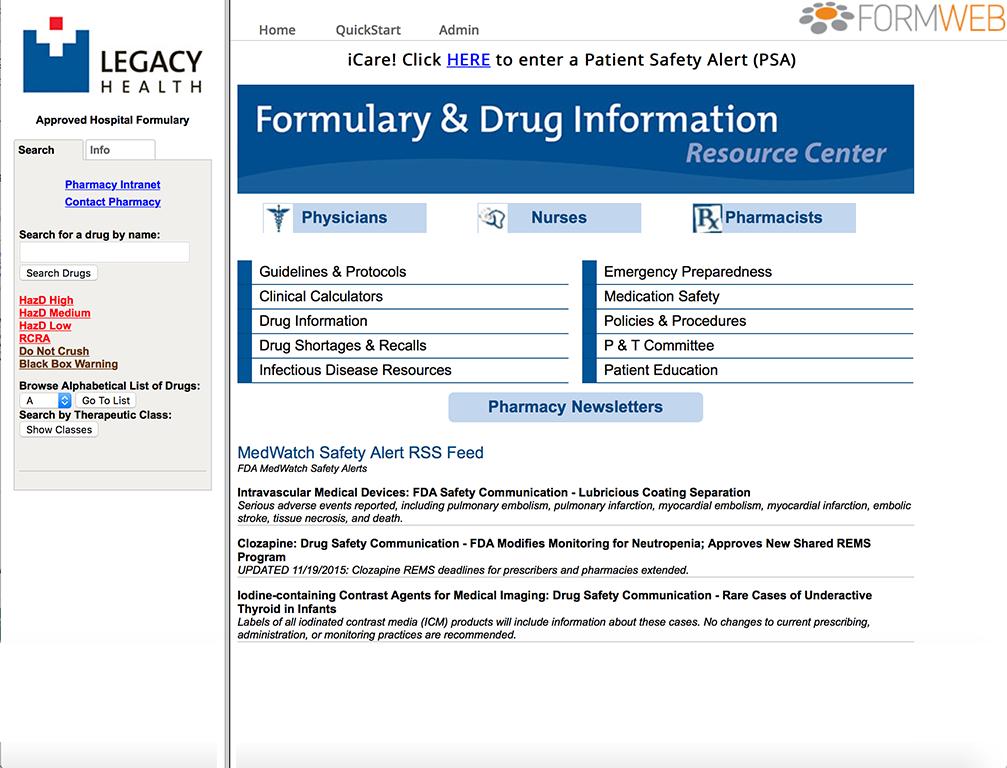 FormWeb Demo - FormWeb