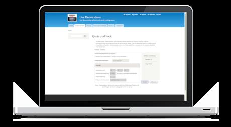 Live parcel tracking system Demo - Live parcel tracking system