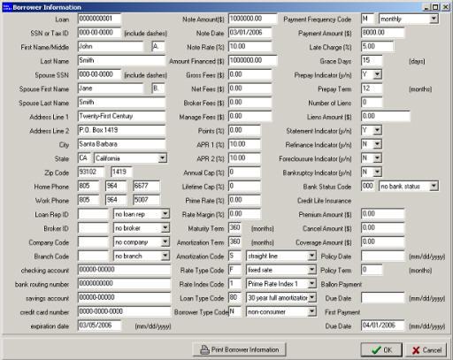 Loan Servicing Software Demo - Loan Origination System