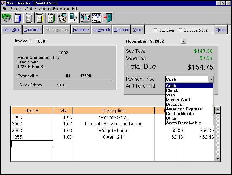 Micro Register Demo - Micro Register