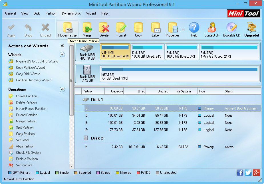 MiniTool Partition Wizard Demo - MiniTool Partition Wizard