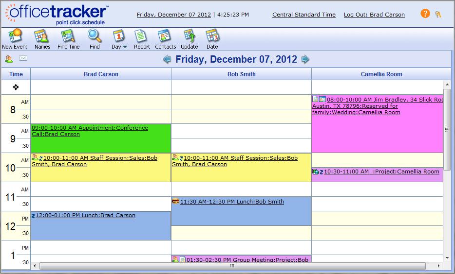 Office Tracker Demo - Office Tracker
