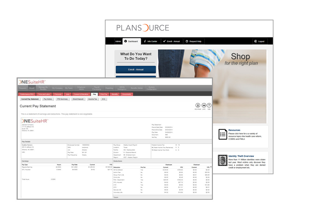PlanSource Demo - PlanSource
