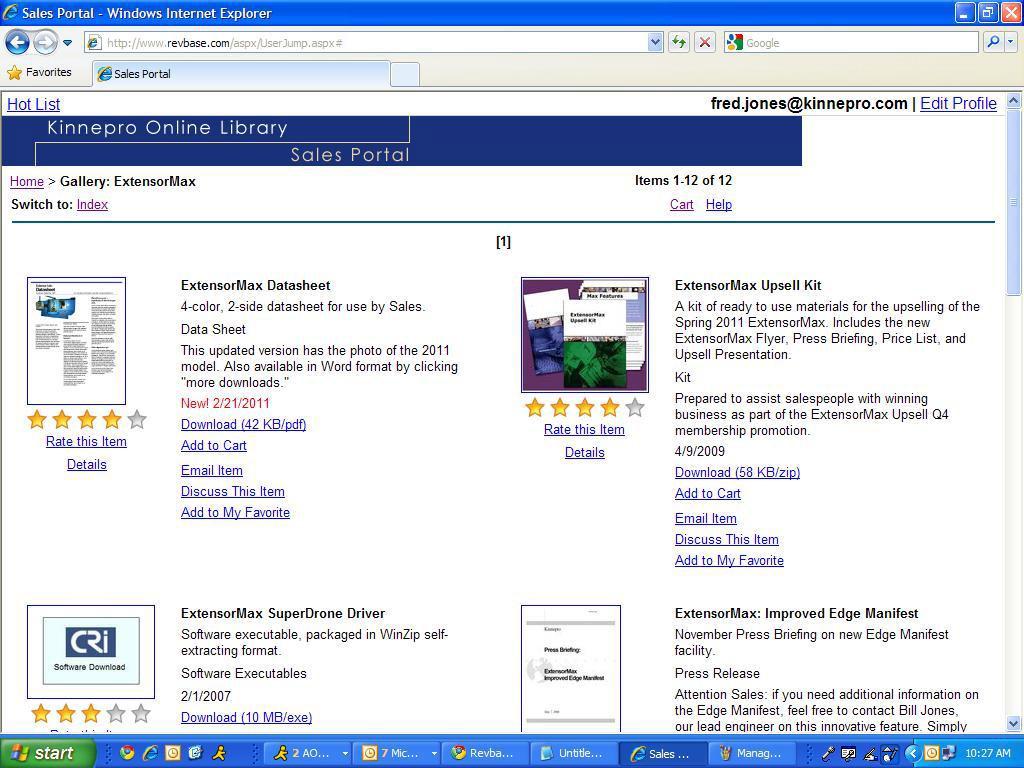 RevBase Demo - RevBase