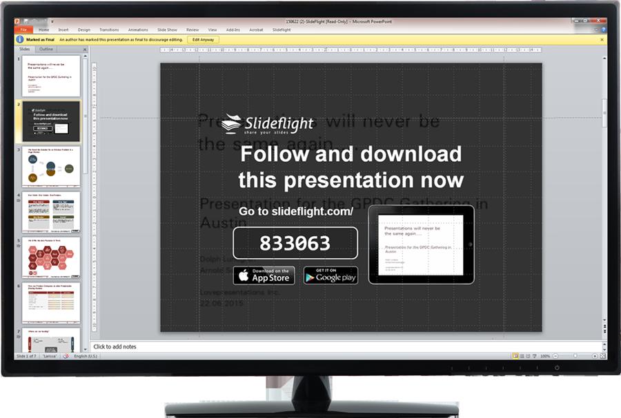 Slideflight Demo - Slideflight