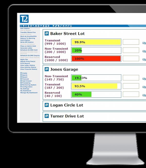 UNIFI Parking Management Platform Demo - T2 Flex
