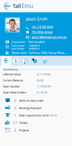 Tall Emu CRM Demo - Tall Emu CRM