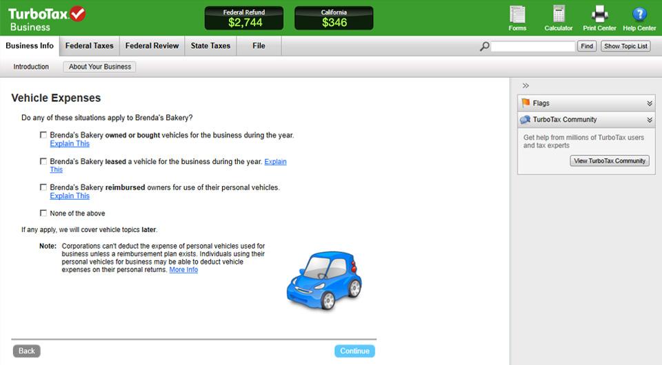 TurboTax Business Demo - TurboTax Business