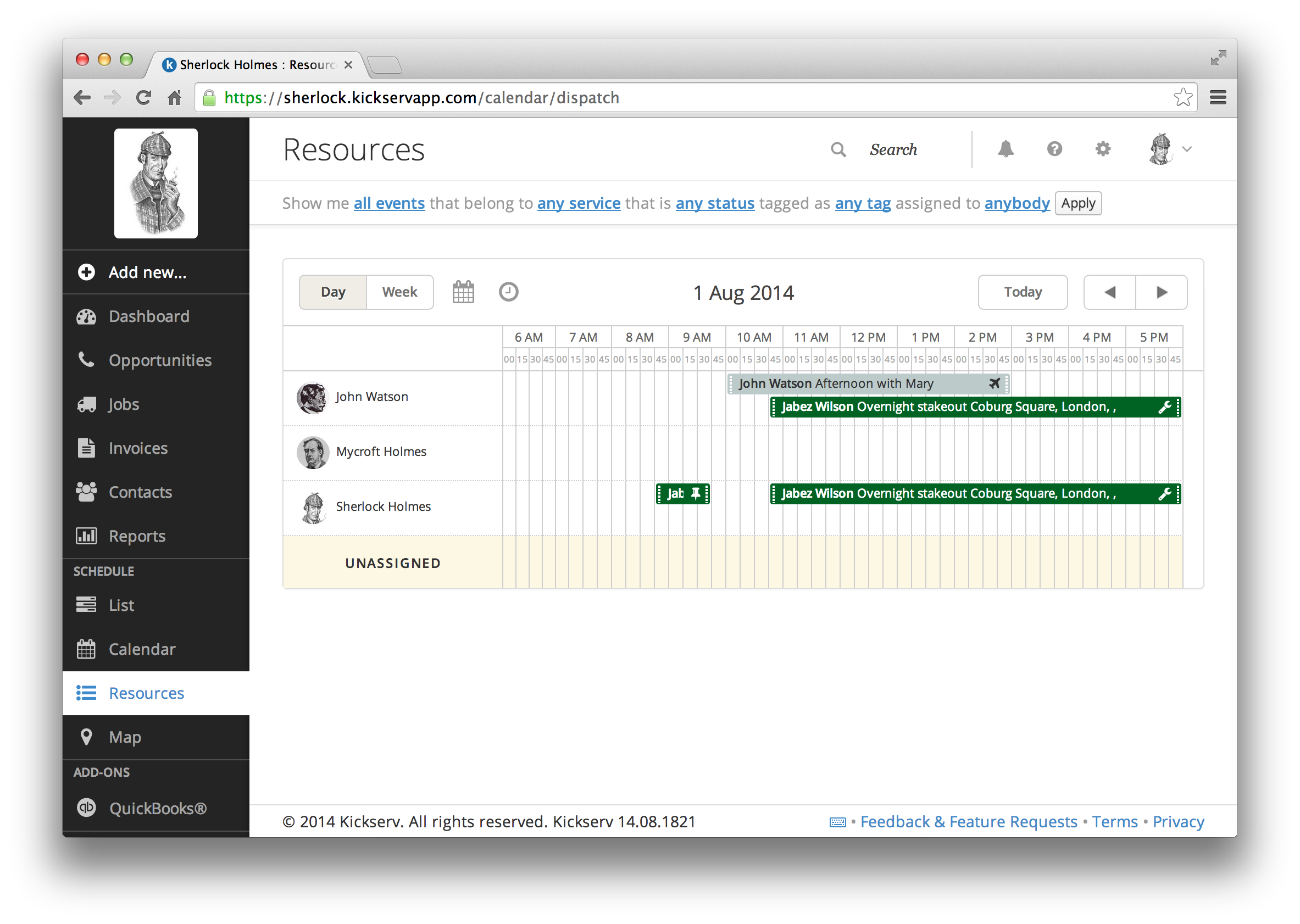 Kickserv Demo - Resources