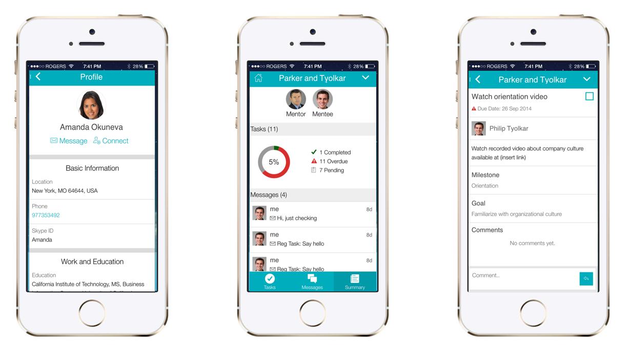 Chronus Demo - Mentoring Access Through Mobile