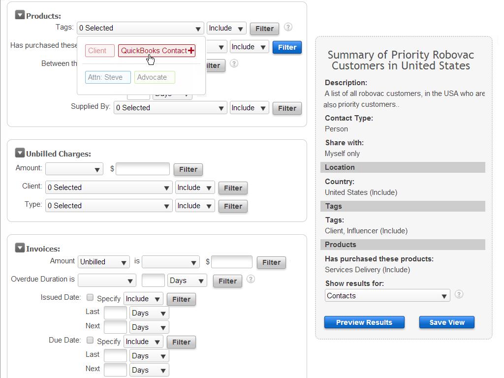 WORK[etc] Demo - One Customer Database for Everything