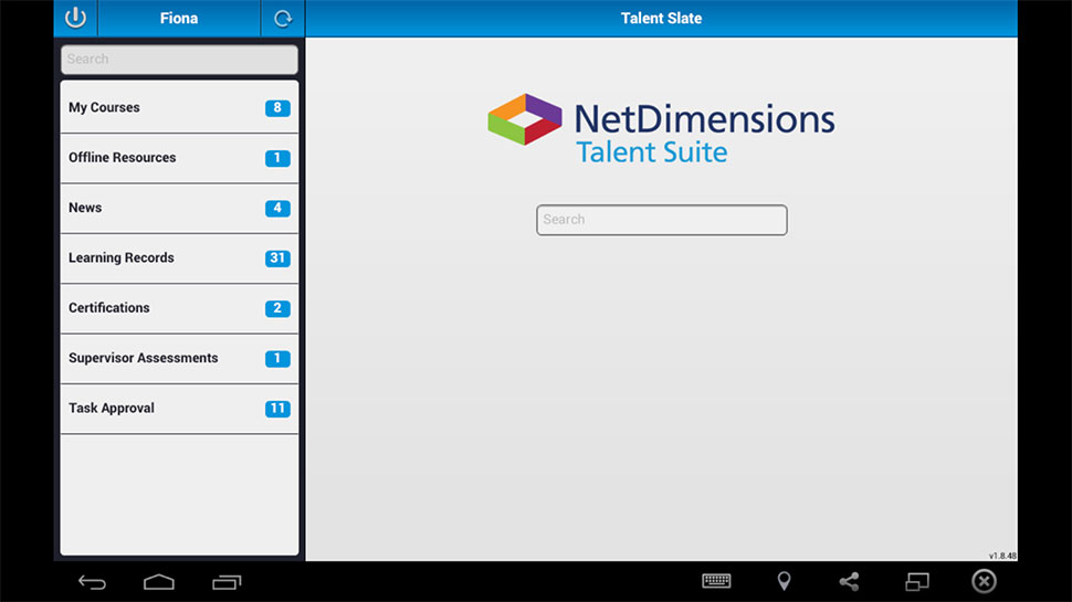 NetDimensions Talent Suite Demo - NetDimensions Talent Slate