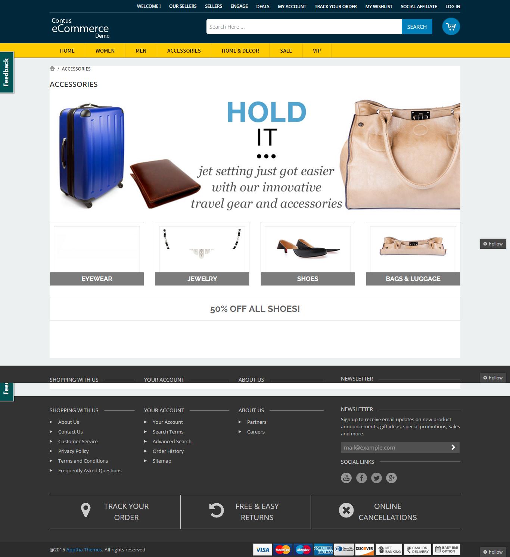 Contus eCommerce Development Demo - Contus ecommerce develop