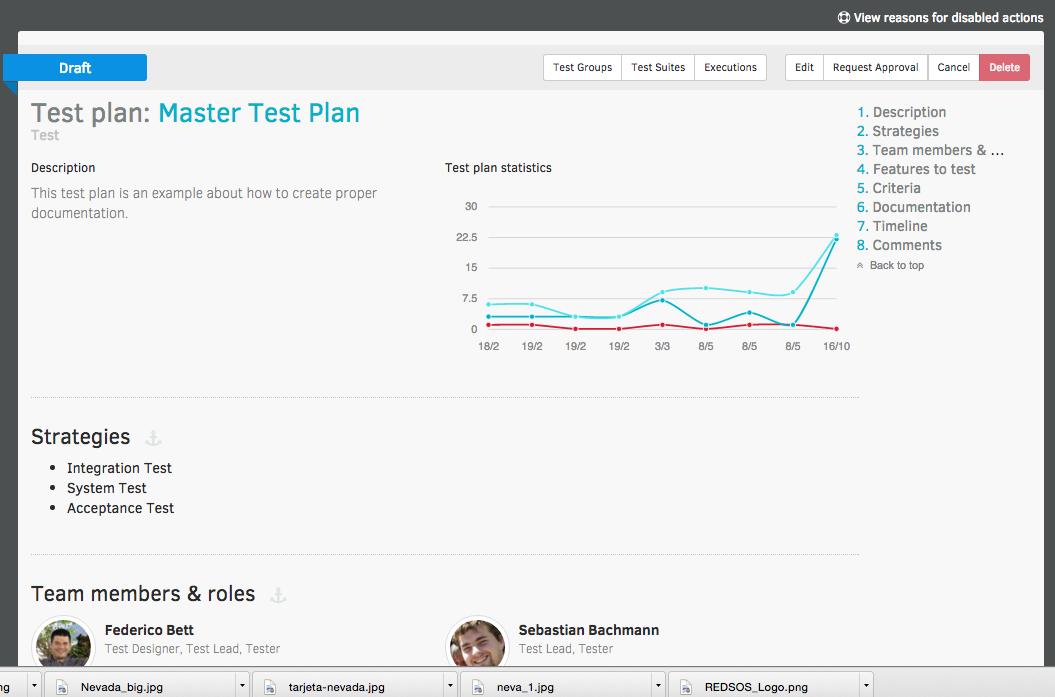 Bstriker ALTM Demo - Professional Test documentation.