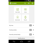 Zendesk Support Mobile Apps Screenshot