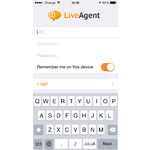 LiveAgent Mobile Apps Screenshot