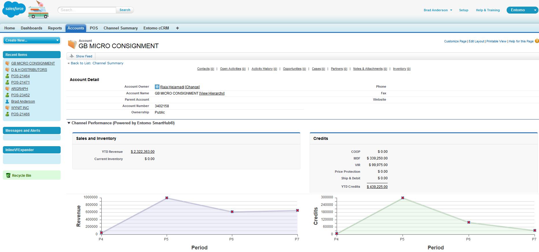 Entomo Demo - Salesforce Integration