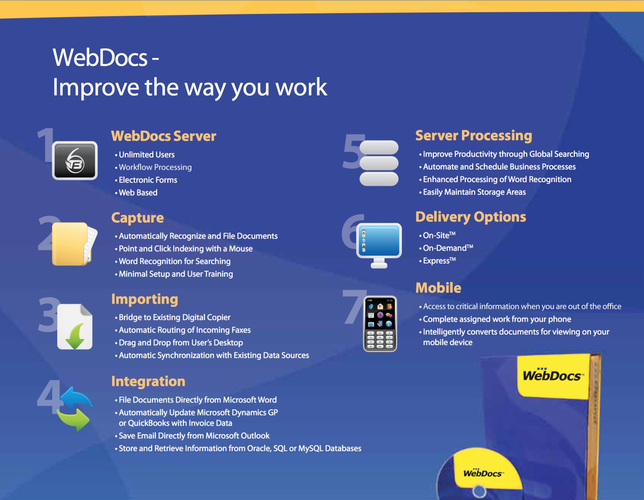 WebDocs Demo - WebDocs – Improve the way you work