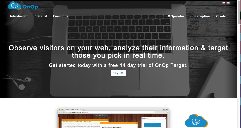 OnOp Target Demo - OnOp Target widget on the web