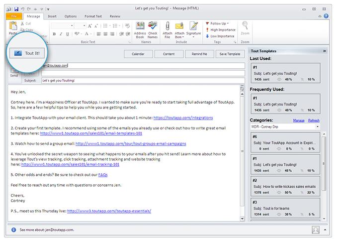 ToutApp Demo - Seamless Integration