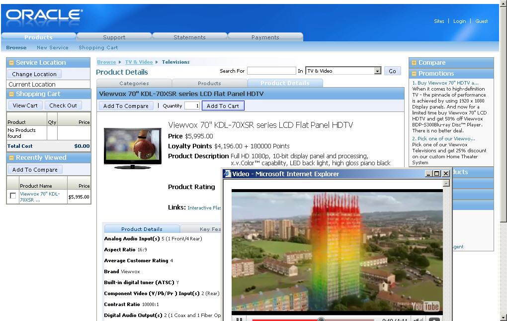 Oracle Siebel Demo -