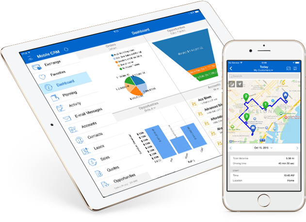 Resco Mobile CRM Demo - Increase efficiency of your field staff