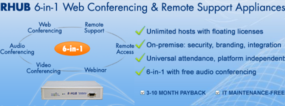 TurboMeeting Demo - RHUB 6-in-1 web & video conferencing server